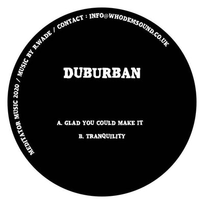 Duburban - MEDITATOR015 - Unearthed Sounds