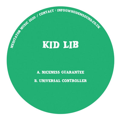 Kid Lib - MEDITATOR016 - Unearthed Sounds