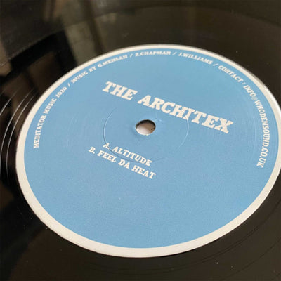 The Architex - MEDITATOR025 - Unearthed Sounds, Vinyl, Record Store, Vinyl Records