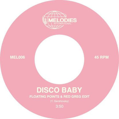 "Disco Baby - Disco Baby (incl.Floating Points & Red Greg Edit) [7"" + Poster] - Unearthed Sounds"