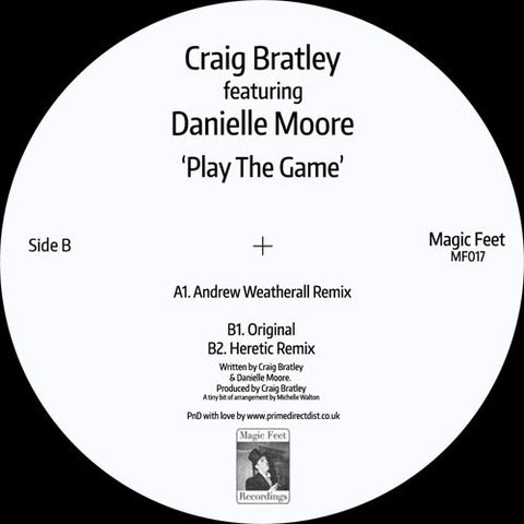 Craig Bratley featuring Danielle Moore - Play The Game