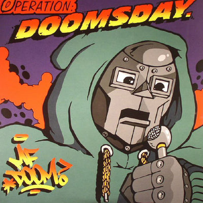 "MF Doom - Operation Doomsday [2x12"" Reissue w/ Poster] - Unearthed Sounds"