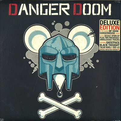 "Dangerdoom - The Mouse And The Mask: Official Metalface Version [3 x 12"" Vinyl LP in Trifold Sleeve] - Unearthed Sounds"