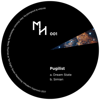 Pugilist - Dream State / Simian [180g Vinyl] - Unearthed Sounds