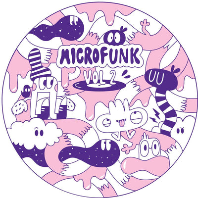 Various Artists - Microfunk EP Vol. 2 , Vinyl - Microfunk, Unearthed Sounds