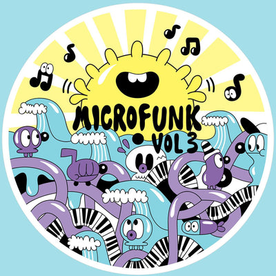 Various Artists - Microfunk EP: Vol. 3 - Unearthed Sounds, Vinyl, Record Store, Vinyl Records