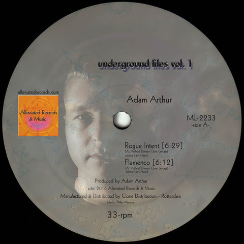 Adam Arthur / Michael Kuntzman - Underground Files Vol. 1