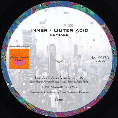 Mr. Fingers - Inner / Outer Acid (Aleksi Perala Remixes) - Unearthed Sounds