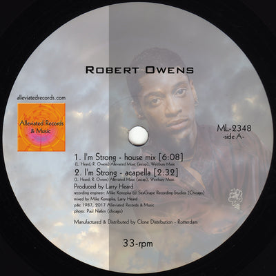 Fingers Inc. / Robert Owens - I'm Strong - Unearthed Sounds