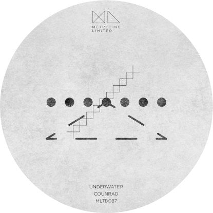 Counrad - Underwater , Vinyl - Metroline Limited, Unearthed Sounds