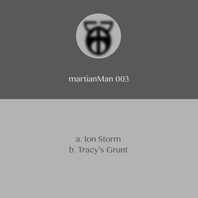 martianMan - Ion Storm / Tracy's Grunt - Unearthed Sounds