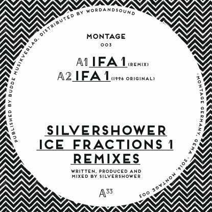 Silvershower - Ice Fractions 1 Remixes , Vinyl - Montage, Unearthed Sounds