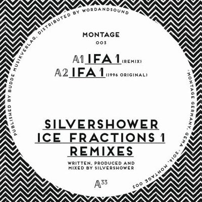 Silvershower - Ice Fractions 1 Remixes - Unearthed Sounds