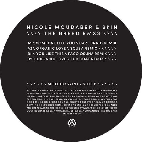 Nicole Moudaber & Skin - The Breed Remixes