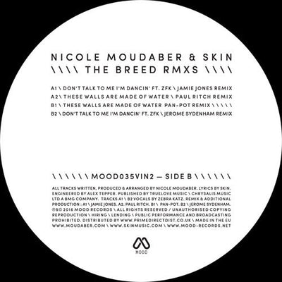 Nicole Moudaber & Skin - The Breed Remixes Pt 2 - Unearthed Sounds