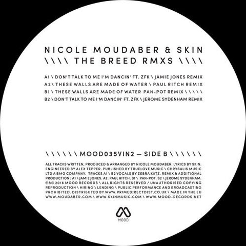Nicole Moudaber & Skin - The Breed Remixes Pt 2