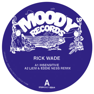 Rick Wade - Deep N Moody EP [180g Vinyl] - Unearthed Sounds, Vinyl, Record Store, Vinyl Records