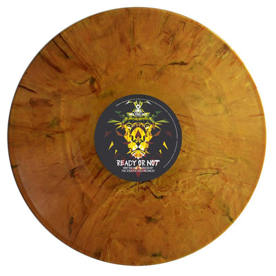 "Fak Scratch & Mooncat - Ready Or Not / Wissen [10"" limited orange marbled vinyl repress] - Unearthed Sounds"