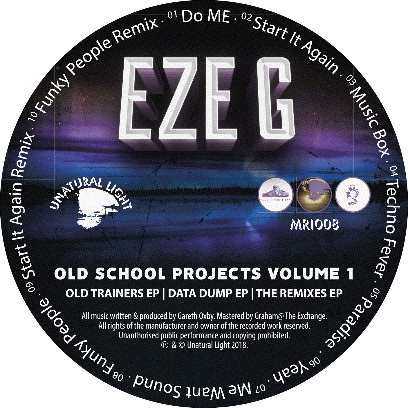 Eze G - Old School Projects Volume 1 [CD]