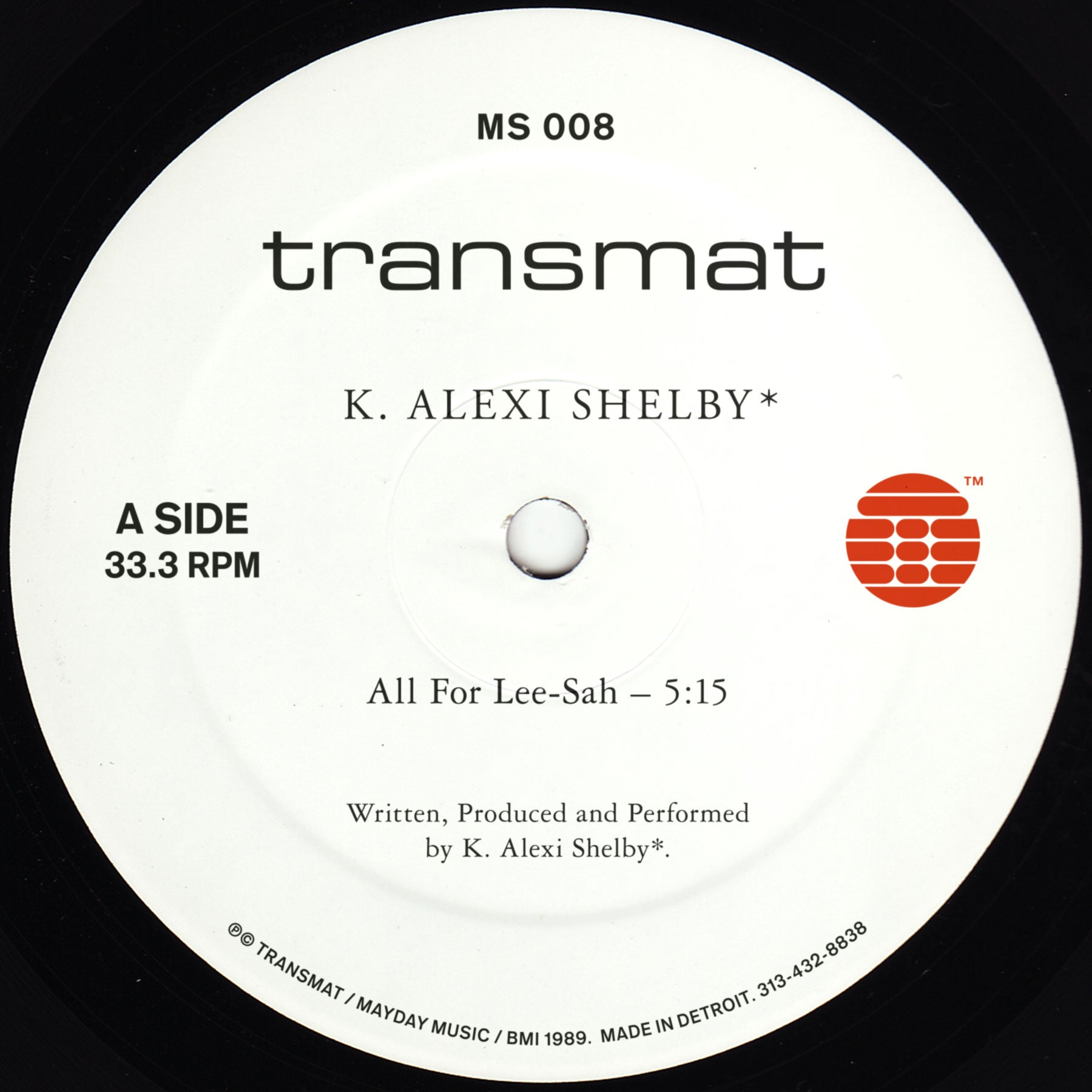 K. Alexi Shelby - All For Lee-Sah