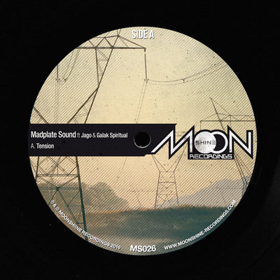Madplate Sound Ft. Jago & Galak Spiritual (Incl Alpha Steppa Remix) , Vinyl - Moonshine recordings, Unearthed Sounds
