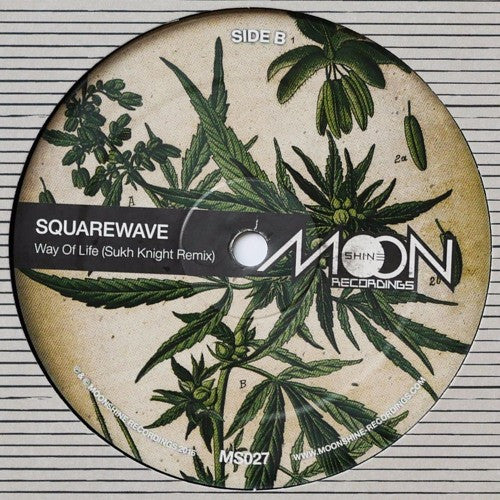 Squarewave - Way Of Life / Sukh Knight Remix , Vinyl - Moonshine recordings, Unearthed Sounds