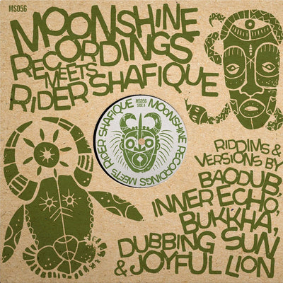 Moonshine Recordings meets Rider Shafique ft Baodub, Bukkha, Dubbing Sun, Inner Echo & Joyful Lion - Unearthed Sounds