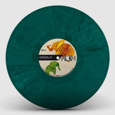 "D-Operation Drop - Liberation Versions [Green Marbled 10"" Vinyl] - Unearthed Sounds"