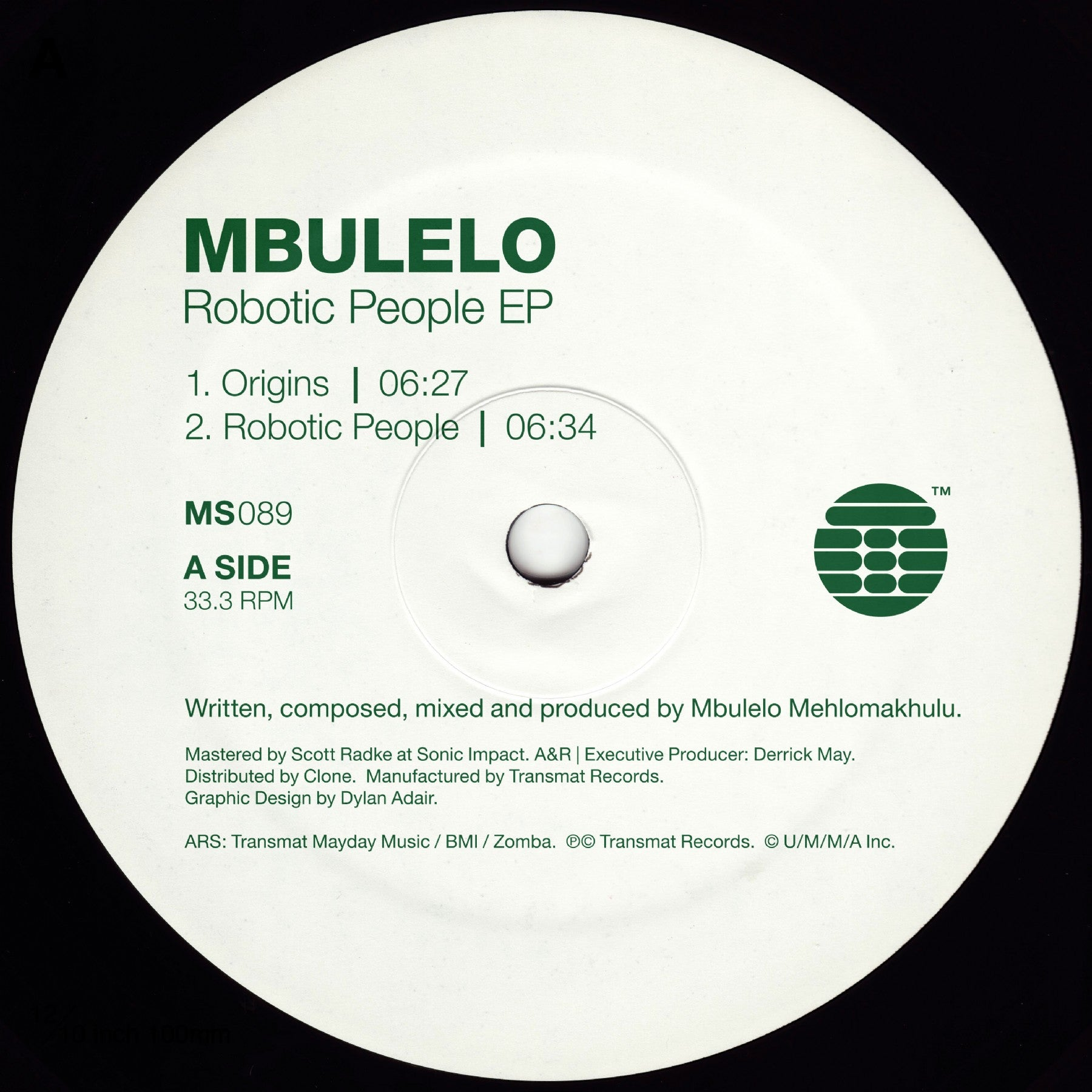 Mbulelo - Robotic People EP