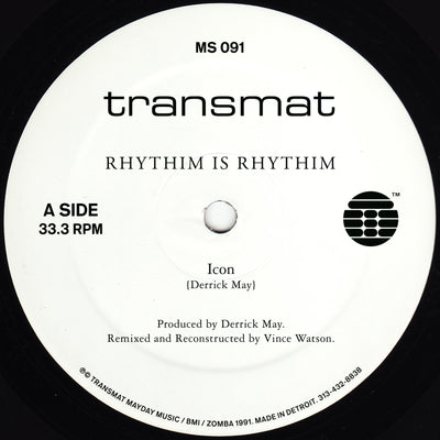 Rhythim Is Rhythim - Icon (Remixed & Reconstructed)