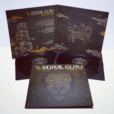 "Radikal Guru - The Rootstepa [2x12"" Gatefold 180g Vinyl] REPRESS - Unearthed Sounds"