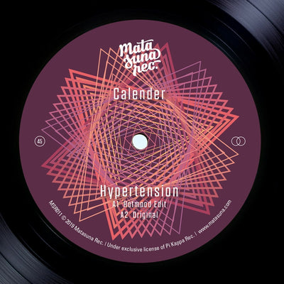 Calender - Hypertension / Ritmo Latino - Unearthed Sounds, Vinyl, Record Store, Vinyl Records