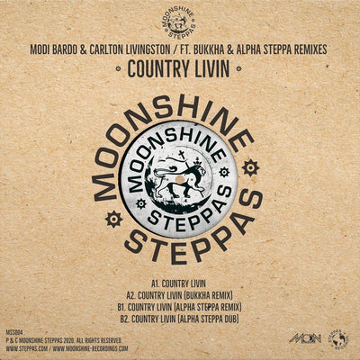 "Modi Bardo & Carlton Livingston ft Alpha Steppa & Bukkha - Country Living [Limited 12"" Vinyl] - Unearthed Sounds"