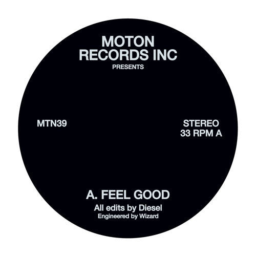 Moton Records Inc Presents - Feel Good , Vinyl - Moton Records Inc, Unearthed Sounds