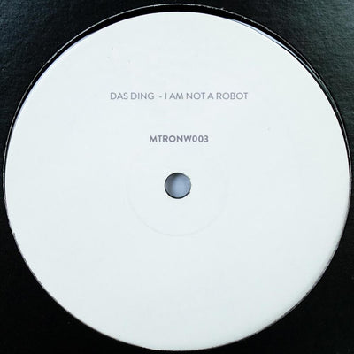 Das Ding - I Am Not A Robot - Unearthed Sounds