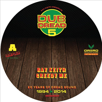 Ray Keith - Dub Dread 5 Sampler EP [Inc. Free CD] - Unearthed Sounds