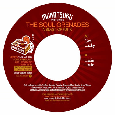The Soul Grenades - A Blast Of Funk! - Unearthed Sounds
