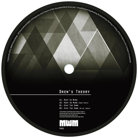 Drew's Theory - Keep In Mind / Stay the Same [w/ Congi Remix, 180g]