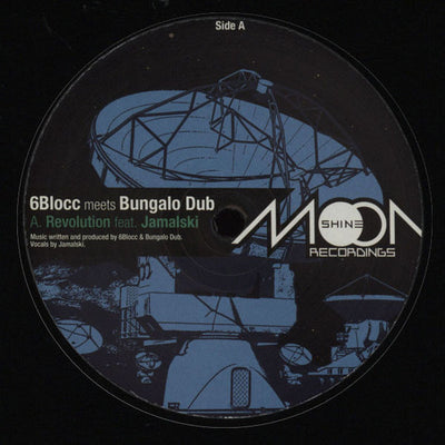 6Blocc meets Bungalo Dub ‎'Revolution' - Unearthed Sounds