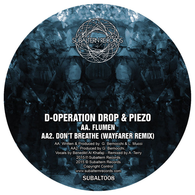 D-Operation Drop & Piezo - Don't Breathe - Unearthed Sounds