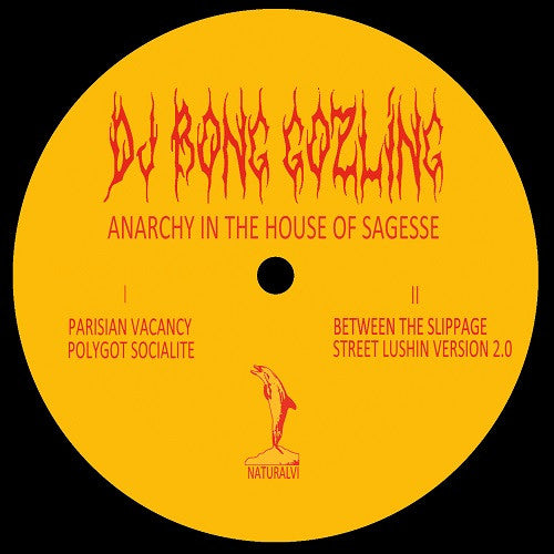 DJ Bong Gozling - Anarchy in the House of Sagesse , Vinyl - natural science, Unearthed Sounds