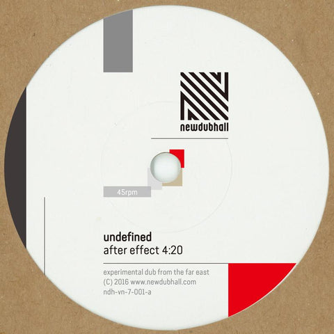 "UNDEFINED - After Effect [7"" Vinyl]"