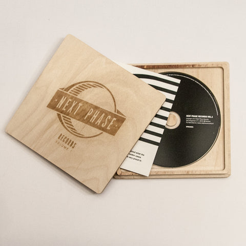 Various ‎– Next Phase Records Vol.1 [CD in Ltd Wooden Case]