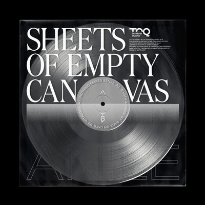 "Anile - Sheets of Empty Canvas [Clear 12"" Vinyl]"