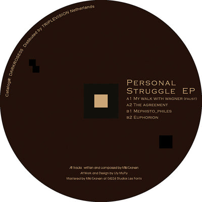 Miki Craven - Personal Struggle EP - Unearthed Sounds
