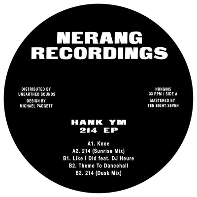 Hank YM - 214 EP - Unearthed Sounds