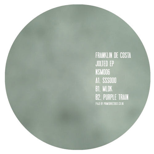 Franklin De Costa - Jolted EP , Vinyl - Not So Much, Unearthed Sounds