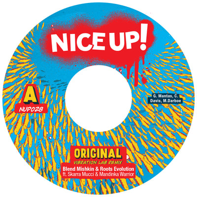 Blend Mishkin & Roots Evolution ft Skarra Mucci & Mandinka Warrior - Original , Vinyl - Nice Up, Unearthed Sounds