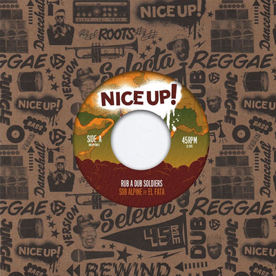 "Sub Alpine - Rub A Dub Soldiers ft. El Fata /  Version [7"" Vinyl]"