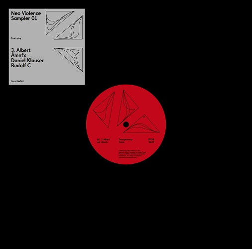 Various Artists - Sampler 001 , Vinyl - Neo Violence, Unearthed Sounds